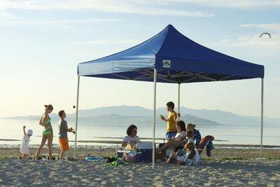 Caravan Canopy 10-by-10-Foot Displayshade Kit
