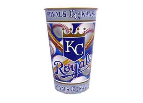 755255 - Kansas City Royals 32 oz Metallic Cup Open Stock Case Pack 12