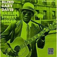 Harlem Street Singer by Reverend Gary Davis