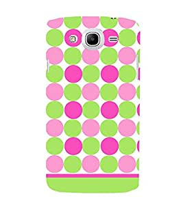 Dots Fashion Pattern Cute Fashion 3D Hard Polycarbonate Designer Back Case Cover for Samsung Galaxy Mega 5.8 I9150 :: Samsung Galaxy Mega Duos I9152