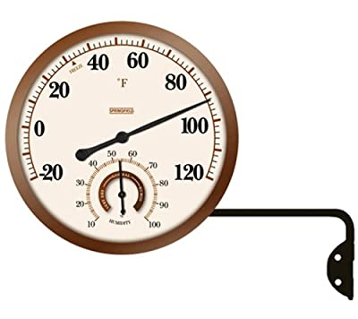 Springfield 91709 5-1/4-Inch Thermometer/Hygrometer with Swing Arm by Springfield