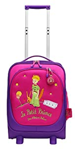 Stratic Little Prince Childrens Wheeled Luggage Case - 31 X 20 X 46 Cm Pink
