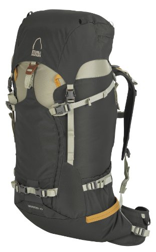 B004KQHB52 Sierra Designs Ministry 40 Backpack (Rock, Medium/Large)
