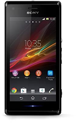 Sony Xperia M C1904 - Single SIM- Unlocked - US Warranty - (Black)