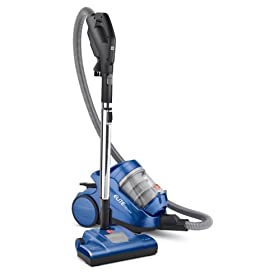 Hoover Elite Cyclonic Canister Vacuum with Power Nozzle, Bagless, S3825