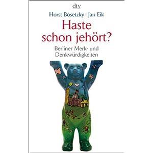 eBook Cover für  Haste schon jeh xF6 rt Berliner Merk und Denkw xFC rdigkeiten