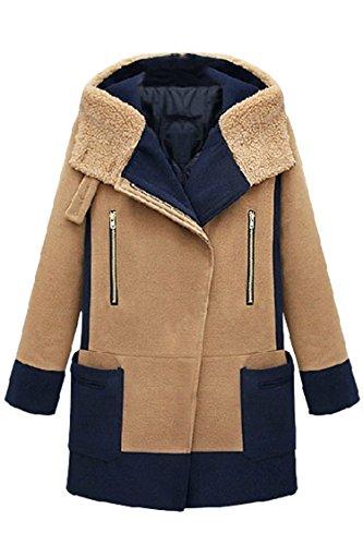 Pink-Queen-Plus-Size-5XL-Womens-Winter-Thicken-Fleece-Hooded-Wool-Jacket-Coat