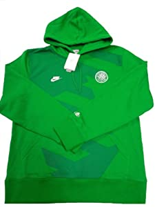 Nike Mens CELTIC (FC) FOOTBALL CLUB 1888 OFFICIAL SOCCER DRAWCORD HOODIE #362082 by Nike