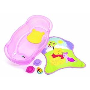 Disney Newborn To Toddler Bath Tub, Pink, Winnie the Pooh