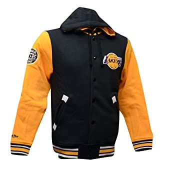 Los Angeles Lakers Mitchell & Ness NBA 2nd Quarter Hooded Fleece Jacket by Mitchell & Ness