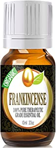 Frankincense (Organic) 100% Pure, Best Therapeutic Grade Essential Oil - 10 ml