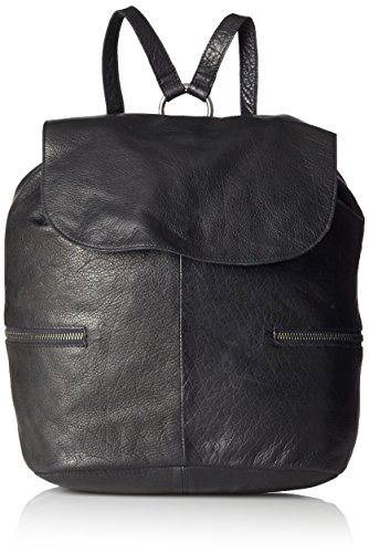 PIECESPCBILLIE LEATHER BACKPACK - Borsa a Zainetto Donna , Nero (Nero (nero)), 27x32x19 cm (B x H x T)
