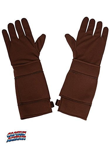 Rubies Captain America: The Winter Soldier Retro Child Size Costume Gloves - 1