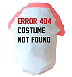 Error 404 costume not found two toned dog vest pink or blue
