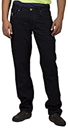 US Polo Association Men's Tapered Fit Jeans (8907163126443_USJN0123_30W x 34L_Red)