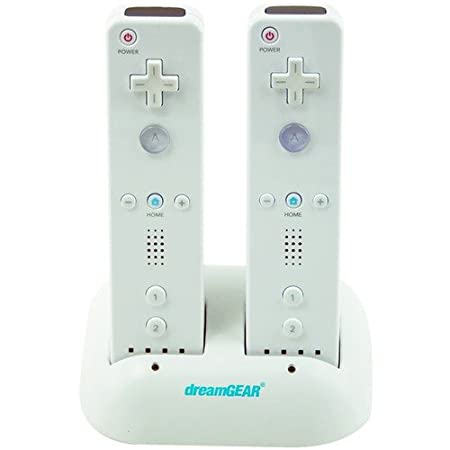 dreamGEAR - Wii Dual Charging Dock & Rechargeable Battery Packs (Wii)