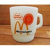 刻印入りFIREKING マグカップ 【ファイヤーキング McDonalds マクドナルド】