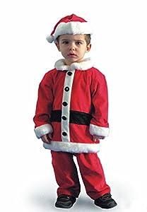 Costume de père Noël enfant-taille garçon 4/5 ans