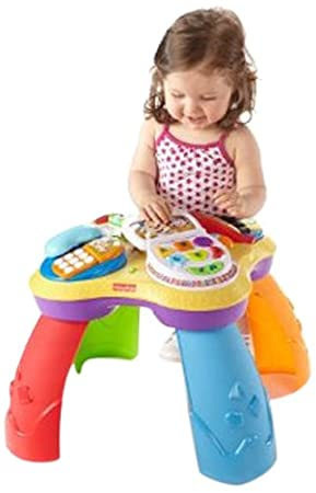 Fisher-Price Laugh and Learn Puppy and Friends Learning Table $25.49