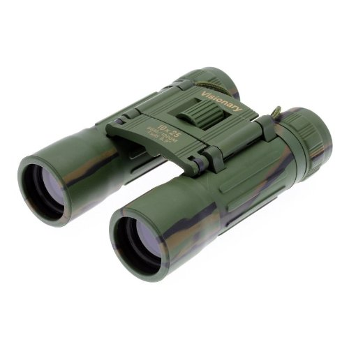 Visionary 10X25 Dx Binoculars Rubber Armour Camouflage [H111956]