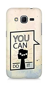 Amez You can Do It! Back Cover For Samsung Galaxy Core Prime