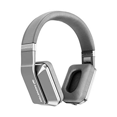Monster 128888 Inspiration Active Noise-Canceling Silver Over-Ear Headphones