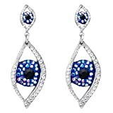 Butler & Wilson Big Brother Large Eye Drop Earrings
