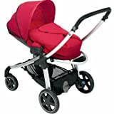Unique Maxi-Cosi Elea Pushchair in Intense Red - Cleva Edition ChildSAFE Door Stopz Bundle