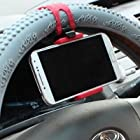 Universal Auto Car Steering Wheel Stand Mount Holder For Iphone6 5S 5C 4S Galaxy S4 S3