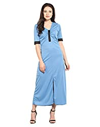 Powder Blue T-Shirt Dress Medium