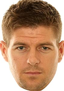 Steven Gerrard Liverpool Face Mask by Foxy Facemasks