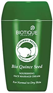 Biotique Nourishing Face Massage Cream - Quince Seed 55g