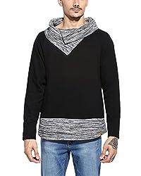 Campus Sutra Men Sweatshirt (AW16_HCWLBPT_M_PLN_BLDN _XL)