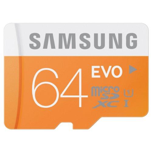 日本サムスン正規品 SAMSUNG EVO microSDXCカード UHS-I Class10 64GB MB-MP64D/JP 最大転送速度48MB/s 10年保証