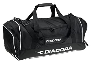 Diadora Medium Team Bag (Black, 25-Inch x 11-Inch x 11-Inch)