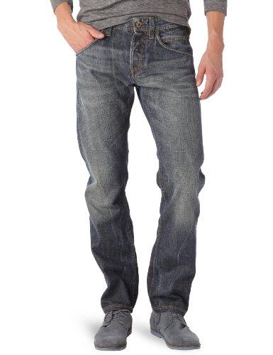 Jeans MP001 Blue Denim used and whisker D1540 Meltin Pot W29 L34 Men's