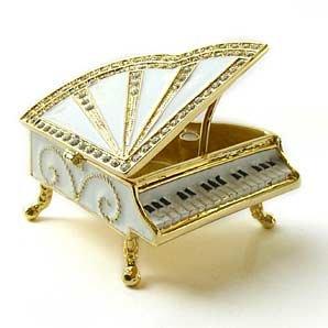 Miniature Jewelry Keepsake Box: Sparkling Collectibles: Home & Kitchen