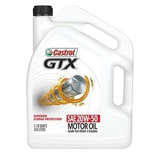 Castrol 03563 gtx 20w 50 conventional motor for Castrol gtx conventional motor oil