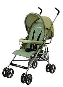 Dream On Me Fashionable Peek a Boo Stroller, Green (Discontinued by Manufacturer)