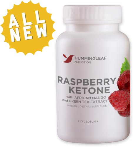 Raspberry Ketones Dr Oz Recommended Extreme Fresh Fat Burner with African Mango and Green Tea Extract – 500mg Advanced Slimming Complex Fat Loss Formula for Weight Loss As Seen on TV – All Natural Appetite Suppresant and Dietary Supplement with No Side Effects – 60 Vegetarian Capsules, 30 Day Supply – Made in USA
