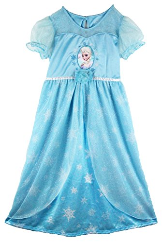 Frozen Elsa Fantasy Dressy Nightgown, Girls Sizes 4-12