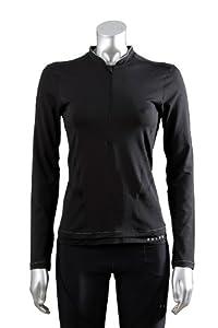 FALKE Damen Running Longsleeve Shirt Carlton, black, M, 38434