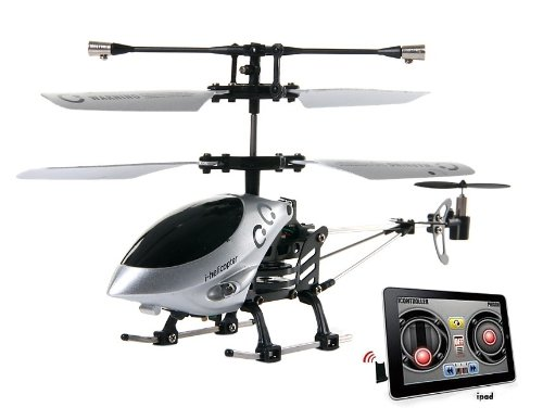 777-172 Mini 3.5 Channel iPhone iPad FM Remote Control Helicopter (Black) + Worldwide free shiping