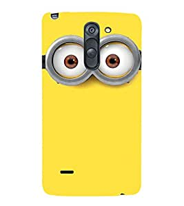Vizagbeats Minion Back Case Cover for LG G3 Stylus::LG G3 Stylus D690N::LG G3 Stylus D690
