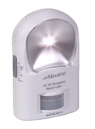 Maxxima MLS-10 2 LED AC/DC Occupancy Sensor Light