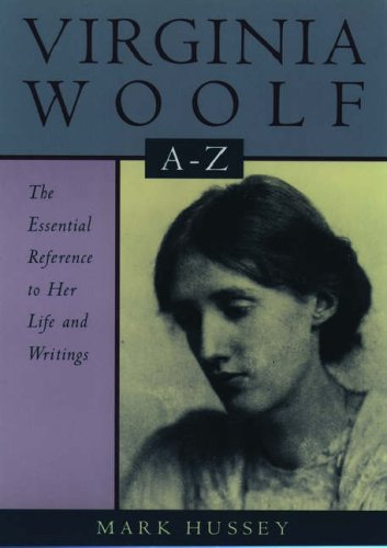 Virginia Woolf A to Z (Literary a to Z's)