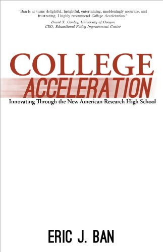 College Acceleration: Innovating Through the New American Research High School