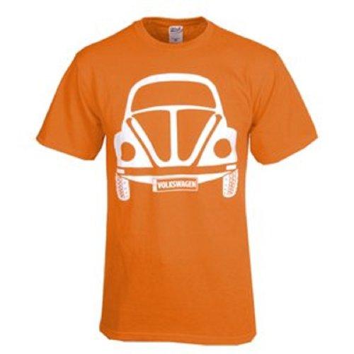 Vw Kafer Beetle Tee-Orange- Medium