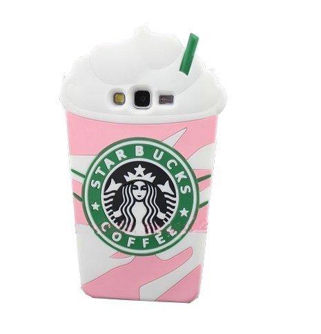 Tosende Pink Starbucks Kaffee Eis Silikon Back Cover Schutzhülle für Samsung Galaxy Grand Prime G530 Picture