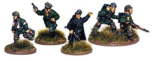 1943-45 Waffen-ss Hq Miniatures - 1